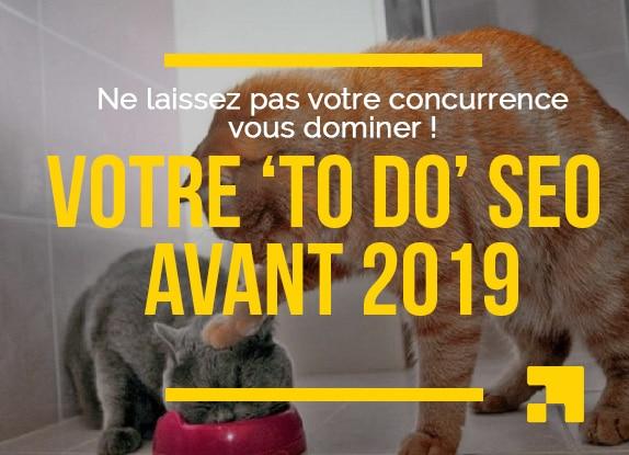 To Do SEO pour bien commencer 2019